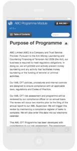 AML Programme